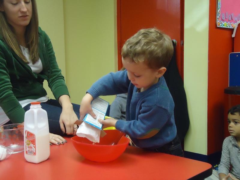 baking in class